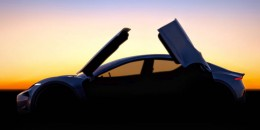 New Fisker electric car: 'butterfly doors' ... but strange hype too?