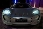 Rebooted Fisker reveals aggressive face of new electric car