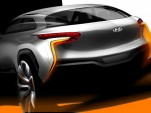 Teaser for Hyundai Intrado concept
