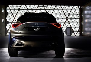 Infiniti QX30 Concept For Compact SUV To Debut At Geneva Show