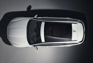 Teaser for Jaguar XF Sportbrake debuting in 2017