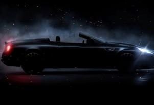 Teaser for Kahn Design WB12 Vengeance Volante debuting at 2017 Geneva auto show