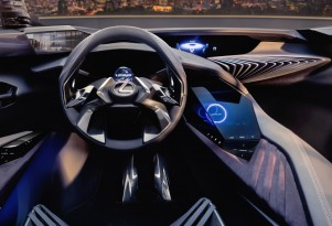 Teaser for Lexus UX concept debuting at 2016 Paris auto show