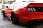 Liberty Walk wide-body Ford Mustang almost ready for its debut