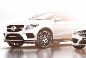 Teaser for Mercedes-Benz GLE-Class Coupe AMG Sport