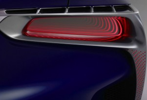 Teaser for new Lexus hybrid coupe concept