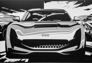 Teaser for new TVR sports car coming in 2017