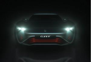 Teaser for Quant e-Sportlimousine concept