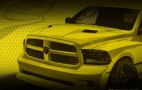 Ram Teases Rumble Bee Performance Pickup Concept