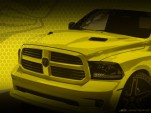 Teaser for Ram 1500 Rumble Bee concept