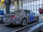Teaser for seventh-generation BMW 5-Series