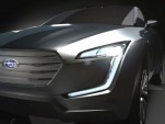 Teaser for Subaru Viviv concept car
