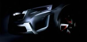 Teaser for Subaru XV concept debuting at 2016 Geneva Motor Show