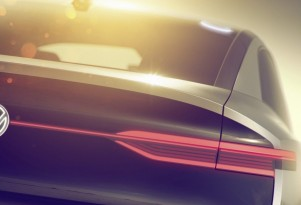 Volkswagen teases electric crossover for Shanghai auto show