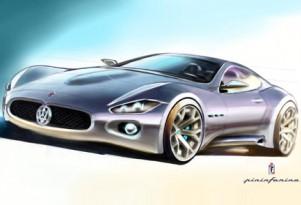 Teaser of the Pininfarina designed Maserati coupe