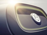 Teaser photo for next Volkswagen I.D. electric-car concept, to be shown at 2017 Detroit Auto Show