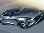 Teaser sketch for Audi Prologue concept (Image via Auto Bild)