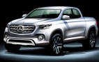 Mercedes-Benz to unveil its pickup truck on October 25th