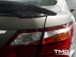 Teasers for TMG TS-650 prototype based on the Lexus LS