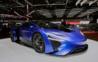 China's Techrules unveils turbine-equipped electric supercar: Live photos and video