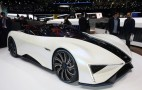 Techrules Ren is an extended-range electric supercar with a central driving position