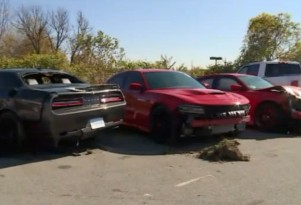 Teen thieves steal and then crash stolen Hellcats