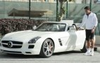 Roger Federer Test-Drives The 2012 Mercedes-Benz SLS AMG Roadster: Video