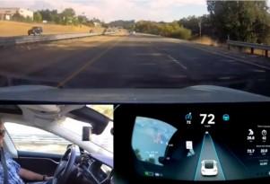 Tesla Autopilot Test