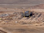 Tesla battery gigafactory site, outside Reno, Nevada, Jan 6, 2015  [photo: Bob Tregilus]