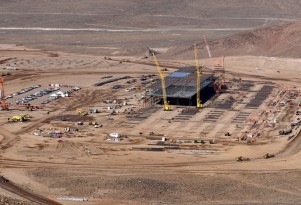 Tesla Gigafactory For Electric-Car Batteries: Site Work Continues (Photos)