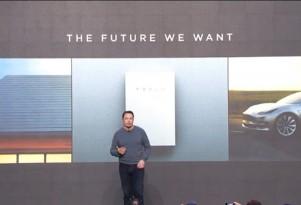 Tesla CEO Elon Musk presents Powerwall 2.0 and SolarCity solar roof