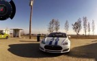 Tesla Model S Tossed Around The Track At Buttonwillow: Video