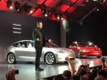 Tesla Model 3: 215-mile, $35,000 electric car revealed