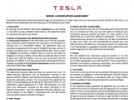 Tesla Model 3 Reservation Agreement