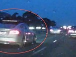Is This A Tesla Model S AWD Prototype Caught Testing? (Video, Photos)