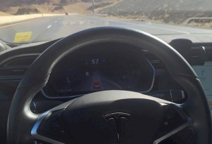Autopilot drives Tesla Model S Electric Car Coast-To-Coast (More Or Less)
