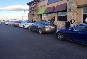 Tesla Supercharger Congestion Worsens In Peak Travel Periods