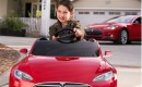 Tesla Model S for kids by Radio Flyer