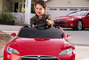 Now, a $500 electric Tesla: it's a holiday gift for your kids (video)