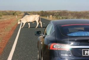 Tesla 3,300-mile Australian camping trip, sans Superchargers