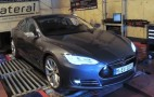 Tesla Model S Cranks Out 428 Horses At The Wheels: Video