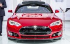 2015 Tesla Model S P85D: 2015 Detroit Auto Show Live Photos