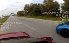 Tesla Model S P85D Drag Races Lamborghini Aventador In 691-HP Duel: Video