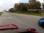 Tesla Model S P85D versus Lamborghini Aventador in street race