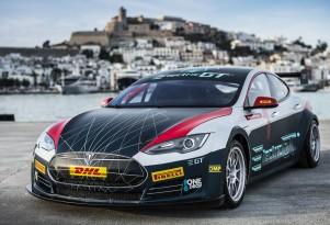2017 Tesla Model S Electric GT race car