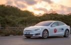 Italians drive Tesla Model S 669 miles to set record