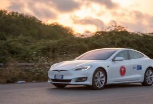 Tesla Owners Italia Model S 100D sets range record