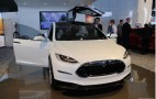 Tesla Model X Shows Its Insides: Detroit Auto Show Live Pictures
