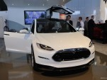 Tesla Model X at 2013 Detroit Auto Show