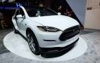 Tesla Model X Appears At CES: Video Walkaround